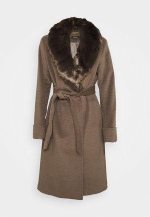 COAT - Płaszcz wełniany /Płaszcz klasyczny - melange taupe
