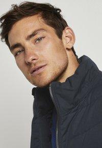 TOM TAILOR - Winter jacket - blue melange structure - 3