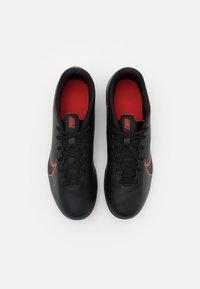 Nike Performance - MERCURIAL VAPOR 13 CLUB FG/MG - Moulded stud football boots - black/dark smoke grey - 3