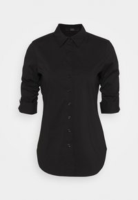 Steffen Schraut - THE ESSENTIAL BLOUSE - Button-down blouse - black - 4