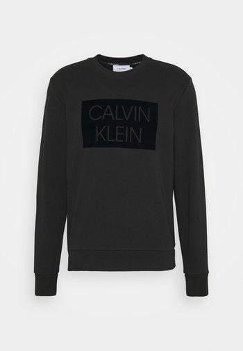 FLOCK BOX LOGO - Sweatshirt - black