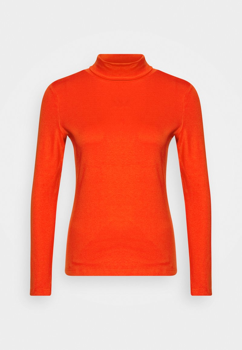TOM TAILOR - Long sleeved top - strong red
