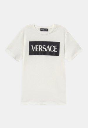 UNISEX - T-shirt print - bianco/nero