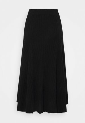 FLARED SKIRT - A-line skirt - black