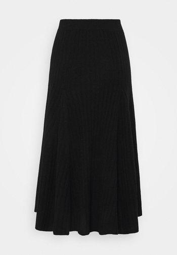 FLARED SKIRT - A-line skirt - black