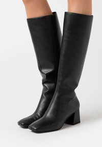 Monki - VEGAN PATTIE BOOT - Støvler - black - 0