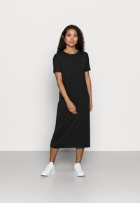 Vero Moda Petite - VMGAVA DRESS PETITE - Jerseykjole - black - 0