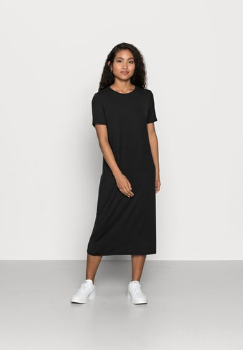 VMGAVA DRESS PETITE - Jersey dress - black