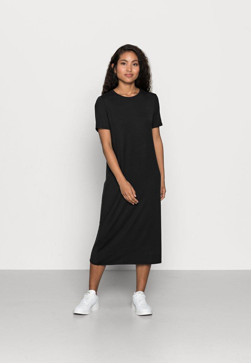 Vero Moda Petite - VMGAVA DRESS PETITE - Jerseykjole - black