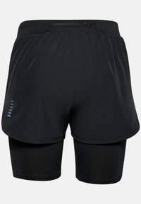 Under Armour - W UA RUSH RUN 2-IN-1 SHORT - Sports shorts - black - 3
