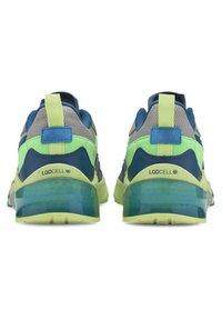 Puma - OPTIC PAX LQDCELL  - Sports shoes - gray violet-nrgy blue - 3