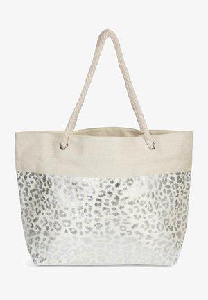 Beach accessory - beige silber