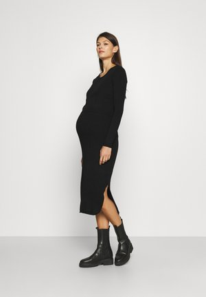 AMAYA 2-IN-1 - Jumper dress - black