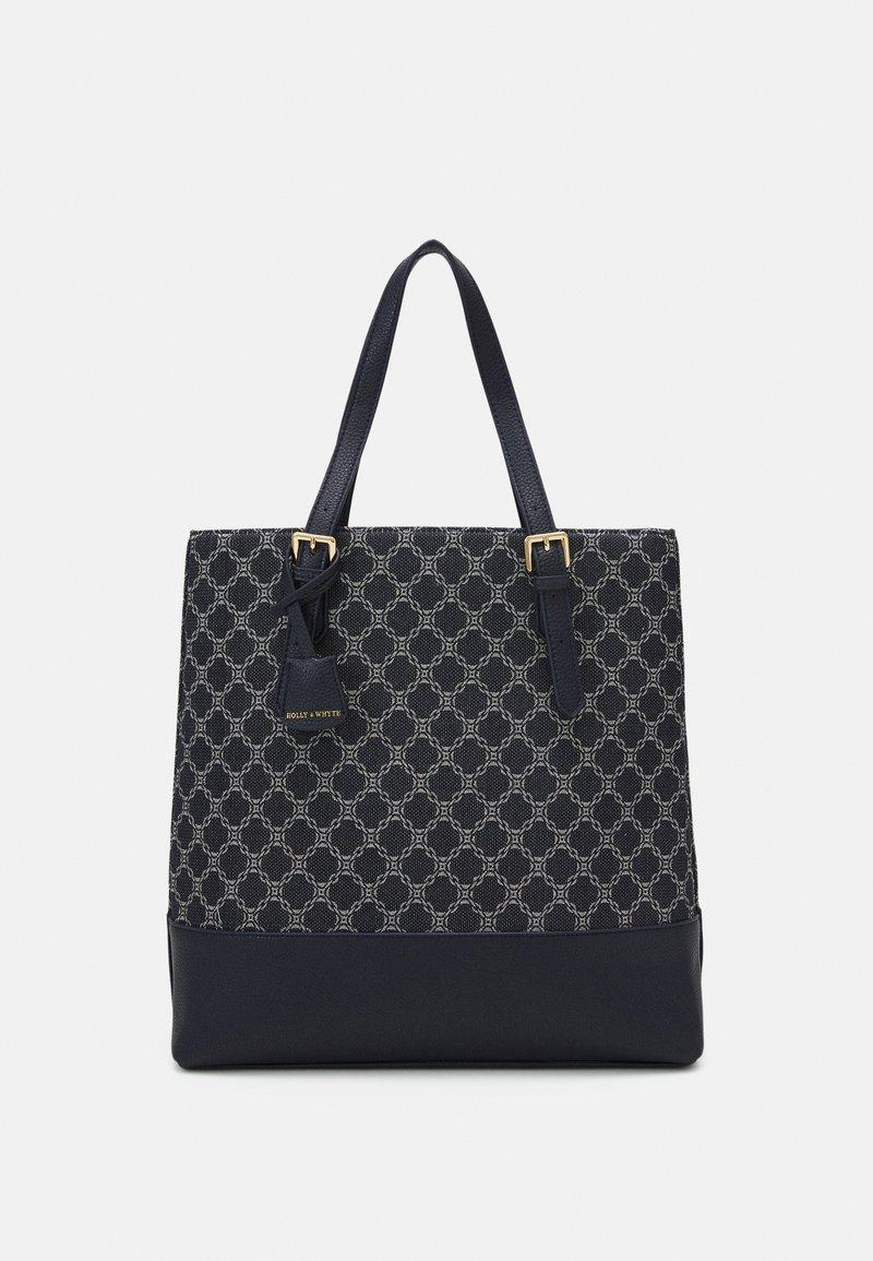 Lindex - BAG MIMMI - Shoppingveske - dark dusty blue