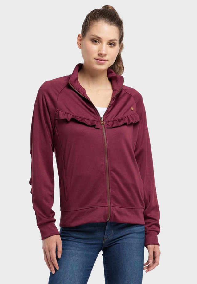 Training jacket - zinfandel