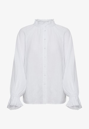 HENRIKE - Button-down blouse - bright white