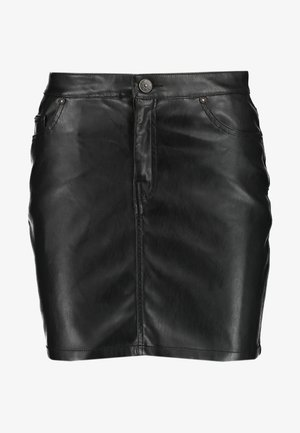 ONLNORMA SKIRT - Mini skirt - black
