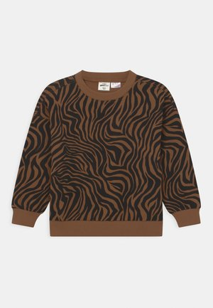 MINI PRINT - Sweater - brown