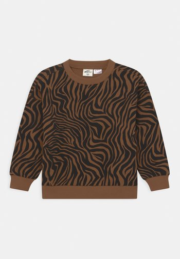 MINI PRINT - Sweatshirts - brown
