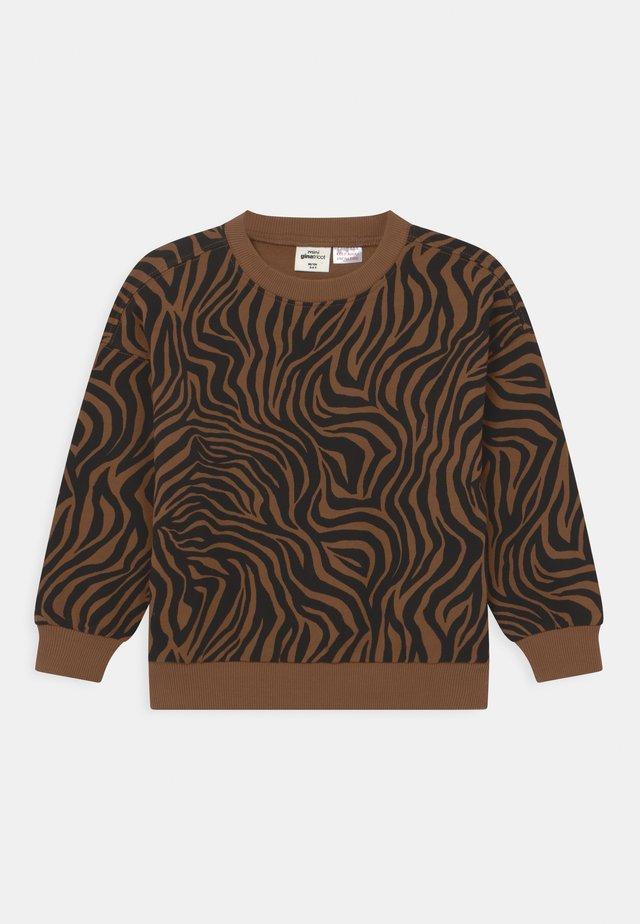 MINI PRINT - Sweater - brown