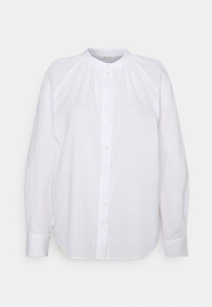 BLOUSE LONG SLEEVE - Button-down blouse - white