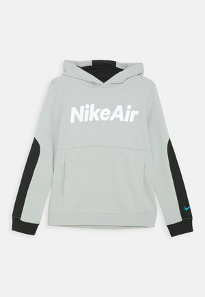 AIR HOODIE UNISEX - Mikina s kapucí - grey fog/black/white