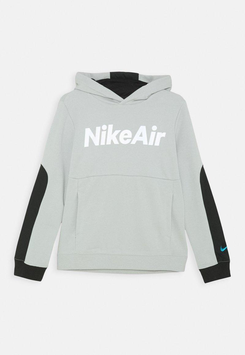 Nike Sportswear - AIR HOODIE UNISEX - Hoodie - grey fog/black/white