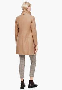 s.Oliver - Classic coat - brown - 1