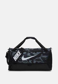 Nike Performance - DUFF UNISEX - Treningsbag - black/white - 0