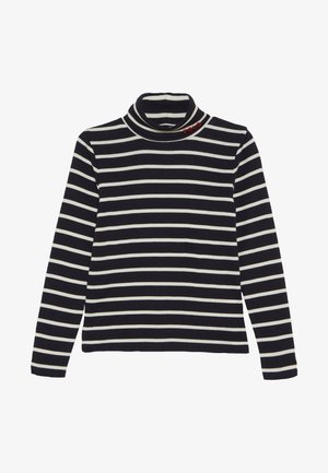 TURT - Longsleeve - hunter navy/clubhouse cream