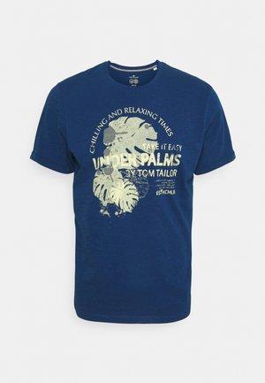 SUMMER - T-Shirt print - after dark blue