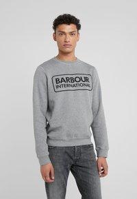 Barbour International - LARGE LOGO - Sweatshirt - anthracite marl - 0
