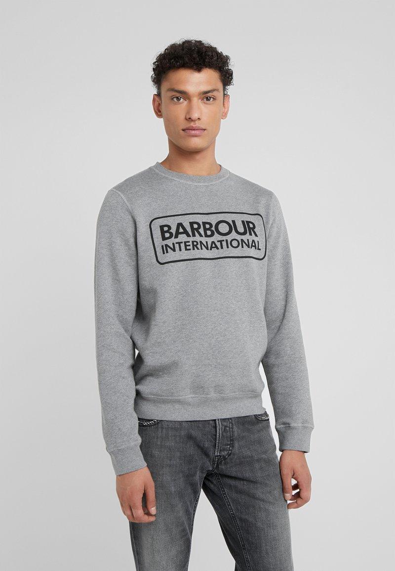 Barbour International - LARGE LOGO - Sweatshirt - anthracite marl