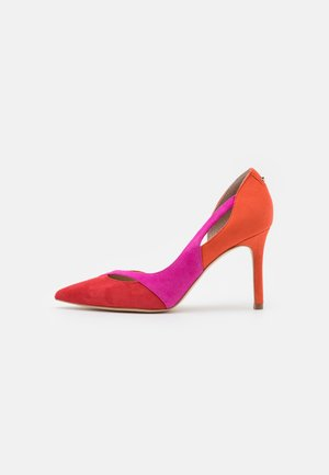 DENALY - Classic heels - red