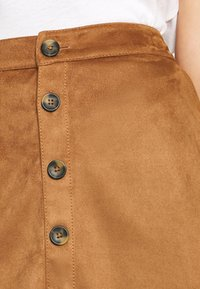 s.Oliver - KURZ - Pencil skirt - brown - 4