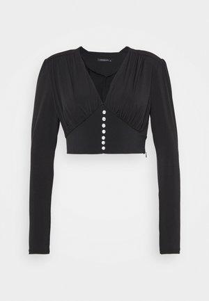 SIYAH - Long sleeved top - black