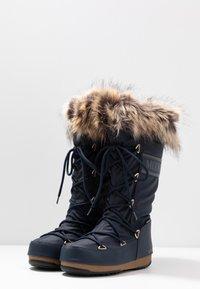 Moon Boot - MONACO WP - Vinterstøvler - denim blue - 4