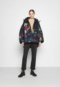 Diesel - JANUA - Winter coat - black/multicolour - 1