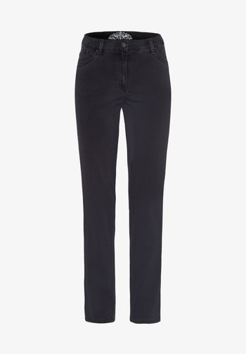 STYLE INA - Slim fit jeans - anthra