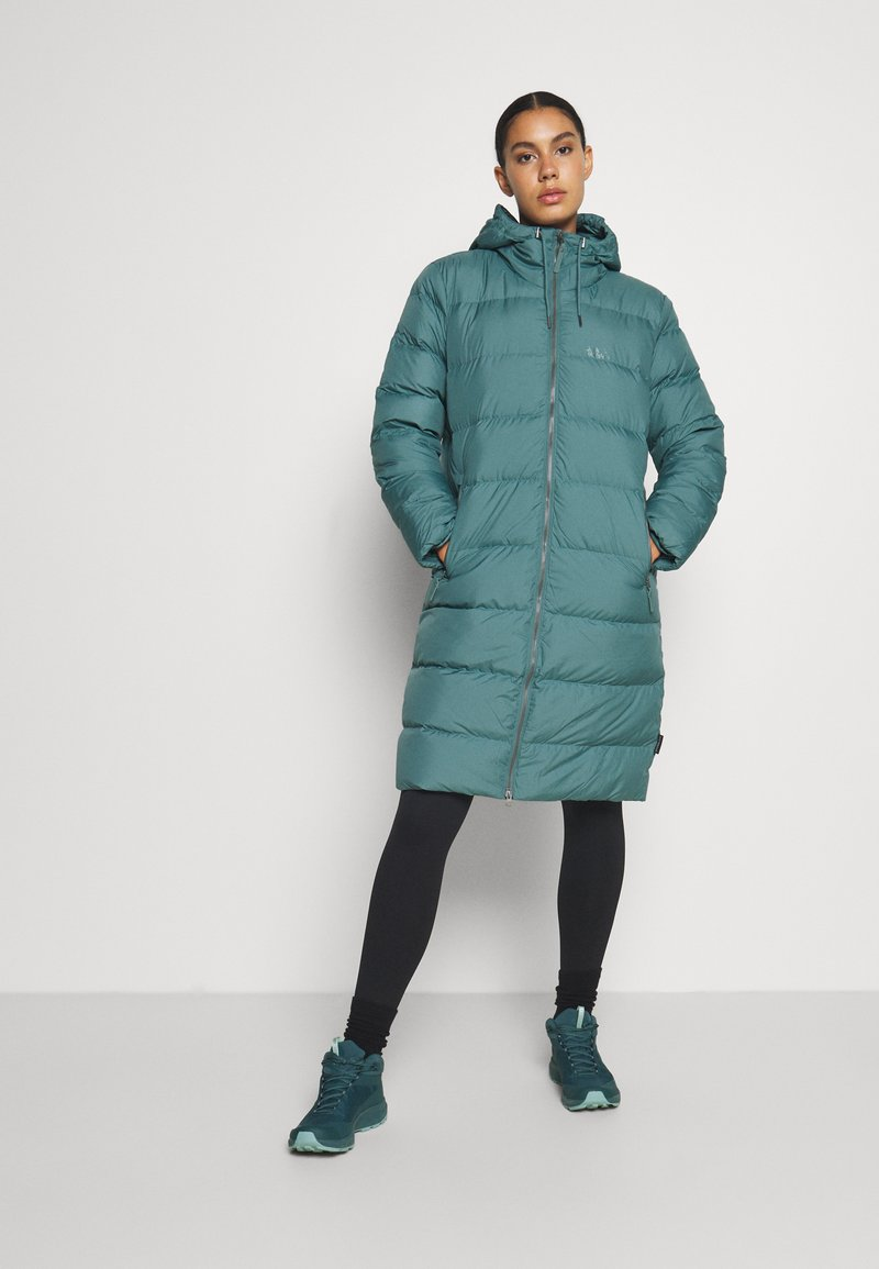 Jack Wolfskin - CRYSTAL PALACE COAT - Down coat - north atlantic