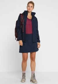 Jack Wolfskin - STORMY POINT JACKET  - Outdoorjas - midnight blue - 1