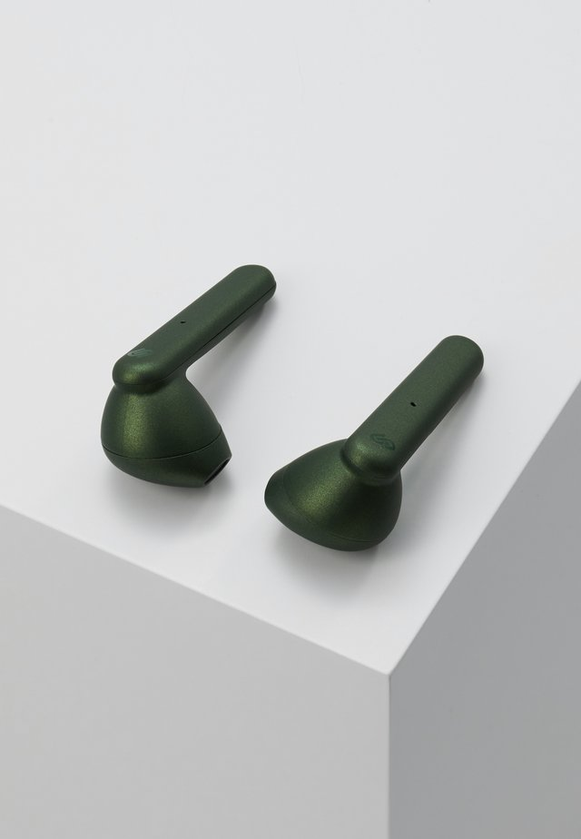 STOCKHOLM TRUE WIRELESS EARPHONES - Headphones - olive green