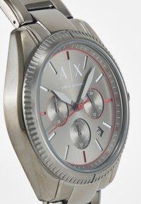 Armani Exchange - Chronograph watch - gunmetal - 3