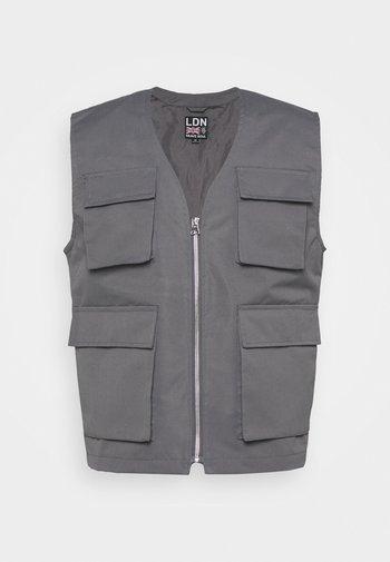 RADAR - Waistcoat - grey