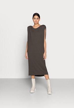 SARAH DRESS - Žerzejové šaty - dark army