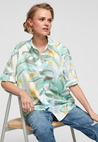 s.Oliver - Overhemdblouse - turquoise aop - 5