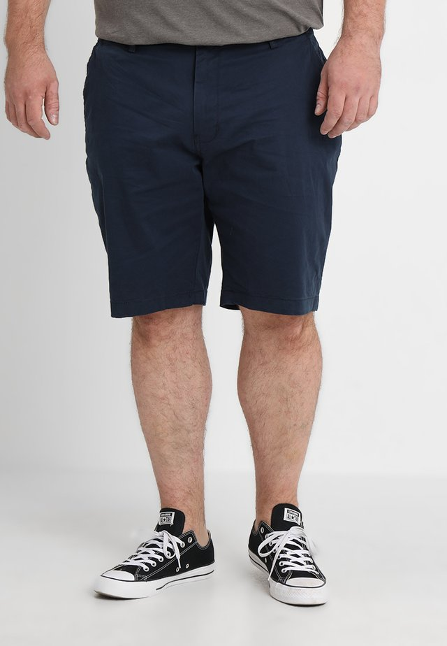 CAPSULE CHINO PLUS - Shorts - navy
