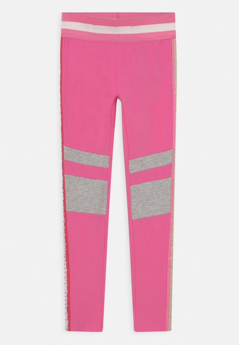 Guess - JUNIOR - Legginsy - pop pink