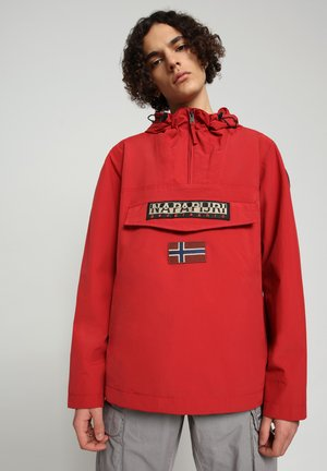 RAINFOREST SUMMER - Windbreaker - old red