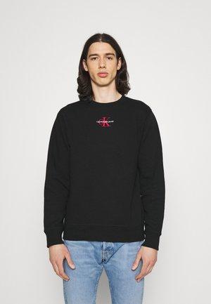 NEW ICONIC ESSENTIAL CREW NECK UNISEX - Sweatshirt - black